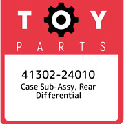 41302-24010 Toyota Case Sub-assy, Rear Differential 4130224010, New Genuine Oem