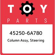 45250-6a780 Toyota Column Assy, Steering 452506a780, New Genuine Oem Part