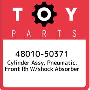 48010-50371 Toyota Cylinder Assy Pneumatic Front Rh W/shock Absorber 480105037