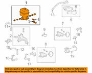 48910-60010 Toyota Pump And Motor Assy Height Control 4891060010 New Genuine Oem