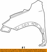 53812-78010 Toyota Fender Sub-assy Front Lh 5381278010 New Genuine Oem Part