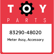 83290-48020 Toyota Meter Assy Accessory 8329048020 New Genuine Oem Part
