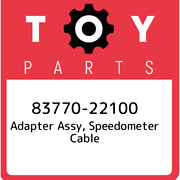 83770-22100 Toyota Adapter Assy Speedometer Cable 8377022100 New Genuine Oem P