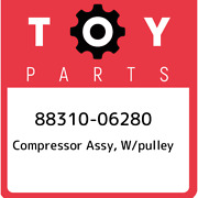 88310-06280 Toyota Compressor Assy W/pulley 8831006280 New Genuine Oem Part