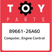 89661-26a60 Toyota Computer Engine Control 8966126a60 New Genuine Oem Part