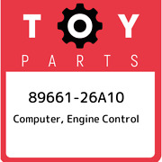 89661-26a10 Toyota Computer, Engine Control 8966126a10, New Genuine Oem Part