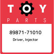 89871-71010 Toyota Driver, Injector 8987171010, New Genuine Oem Part