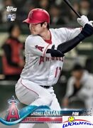 2018 Topps Shohei Ohtani First Printed Topps Rookie Card W/rc Logo La Angels