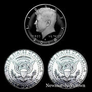 2018 P+d+s Kennedy Half Dollar Mint Proof Set Proof And Pd From Mint Rolls