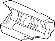 14199-3ky0b Nissan Insulator-supercharger 141993ky0b, New Genuine Oem Part