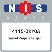 14115-3ky0a Nissan Gasket-supercharger 141153ky0a, New Genuine Oem Part