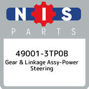 49001-3tp0b Nissan Gear And Linkage Assy-power Steering 490013tp0b New Genuine Oe