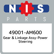 49001-am600 Nissan Gear And Linkage Assy-power Steering 49001am600 New Genuine Oe