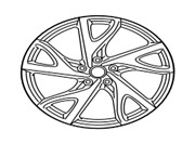 D0300-3gy4a Nissan Aluminum Wheel D03003gy4a, New Genuine Oem Part