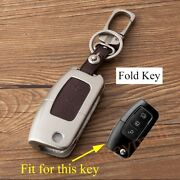 3 Button Key Bag For Ford Fiesta Focus Accessories Key Case Holder Fob Box Shell