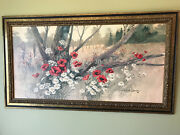 Robert Laessig Forest Bouquet - Large Framed Wall Picture New Lower Price
