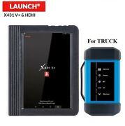 Launch X431 V+ Tablet And Heavy Duty Truck Hd Module 24v Diesel Diagnostic Scanner