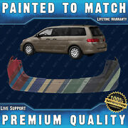 Painted To Match Rear Bumper Cover Direct Fit For 2005-2010 Honda Odyssey 05-10