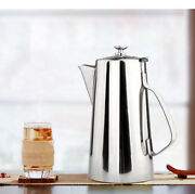 Stainless Steel 2l / 0.5 Gal Cold Beverage Pitcher Ice Tea Jug Water Pot,us Sell