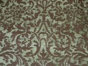Vintage Victorian Chenille Upholstery Fabric 14 3/4 Yards