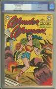 Wonder Woman 49 Cgc 9.0 Ow/wh Pages // Golden Age + Used In Soti