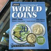 Krause 2016 World Coins Catalogue 2001-date 10th Editon Softcover