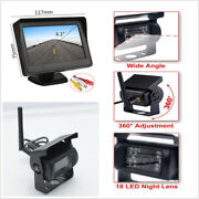 Wireless12v-24v 4.3 Lcd Monitor Rear View System +backup Camera For Bus Truck