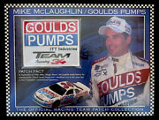 Mike Mclaughlin / Goulds Pumps Itt Willabee And Ward Nascar Racing Team Patch Card