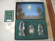 Marquis By Waterford Crystal The Nativity Collection The Holy Family In Box