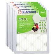 Filtersfast 1 Merv 13 Air Filters - 6-pack For Air Conditioner Furnace Hvac