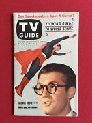 1953superman Tv Guide No Label Scarce George Reeves