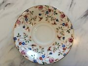 Saucer Vintage Made In Occupied Japan Floral Hand Painted Unknown Maker/pattern