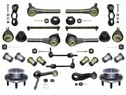 20 Piece Tie Rod Ball Joint Front Wheel Hub Kit Fits Ford Crown Vic. 1992-1994