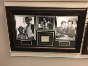 Amos 'n' Andy, Gosden / Correll Deluxe Framed, Autographed Psa Collage