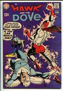 Hawk And The Dove 6 1969-dc Comics-gil Kane-final Issue-vf