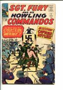Sgt Fury And His Howling Commandos-9-1964-marvel-kirby Art-wwii-hitler-fn