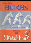 Cleveland Indians Official Sketch Book 1960-yearbook-ml Vf