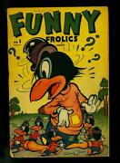 Funny Frolics 3 1946- Timely Comics- Tubby Pig Sci-fi Story- Vg