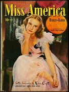 Miss America Vol 3 2 1945-fashions- Patsy Walker- Timely Comics Fn-