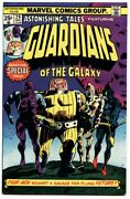 Astonishing Tales 29 1975-1st Guardians Of The Galaxy Reprint Hot Book Vf