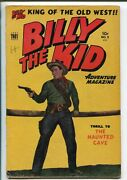 Billy The Kid 8-1951-toby-photo Cover-torture-snake Terror-vg+