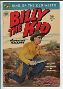 Billy The Kid 11-1952-toby-photo Cover-doc Holiday-jack Slade-vg