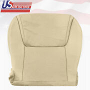 Fit 2008 - 2015 Lexus Lx570 Driver Bottom Perforated Replacement Seat Cover Tan