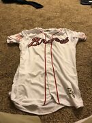 Sean Newcomb 2017 Game-used Jersey Rookie Atlanta Braves Wow July 4th