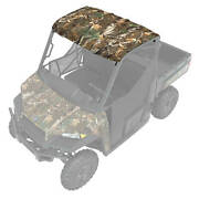 Polaris Poly 3-seat Premium Roof With Lock And Rideandreg Technology With Liner
