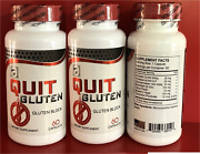 Quit Gluten Block Free 40 Off 120 Capsules Dietary Supplement Easy Digestion