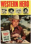 Western Hero 107 1951-gabby Hayes-tom Mix-monte Hale Photo Cover Vf