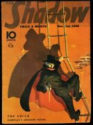 Shadow 1938 Nov 1 - The Voice - Street And Smith Pulp Fn/vf