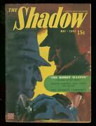 Shadow May 1943- The Robot Master Fredric Brown Pulp Vg+