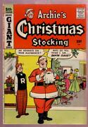 Archie's Christmas Stocking 5 1958 Archie Giant Series Fn/vf